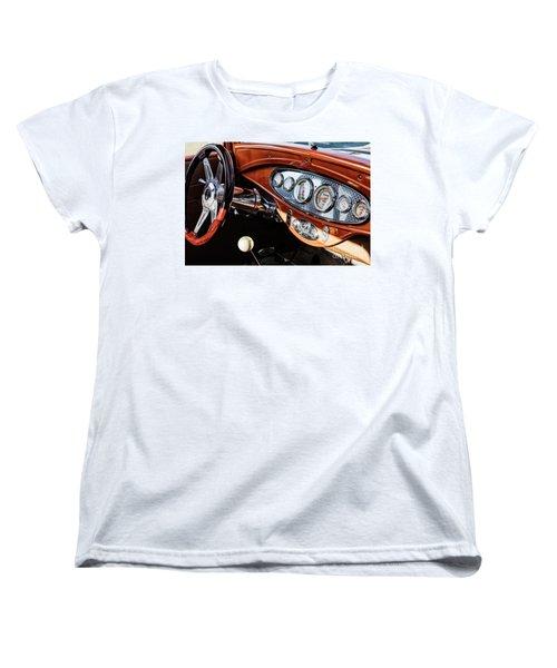Women's T-Shirt (Standard Cut) featuring the photograph Ford Coupe IIi by Brad Allen Fine Art