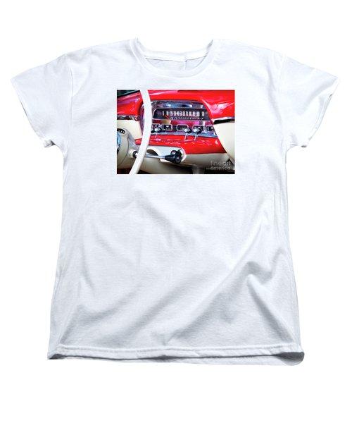 Women's T-Shirt (Standard Cut) featuring the photograph Ford Dash by Chris Dutton