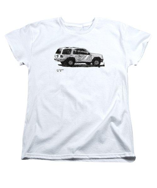 Ford Explorer Women's T-Shirt (Standard Cut) by Eric Tressler