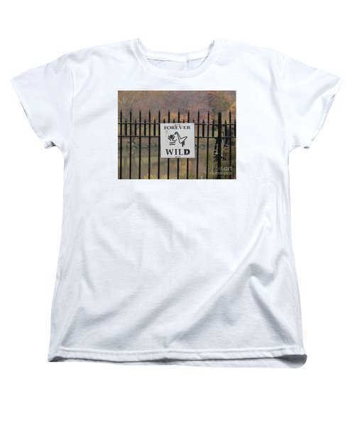 Forever Wild Women's T-Shirt (Standard Cut)