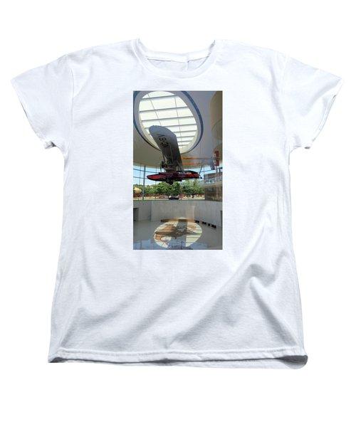 Women's T-Shirt (Standard Cut) featuring the photograph Fortaleza Hall, Spirit Of Carnauba by Mark Czerniec
