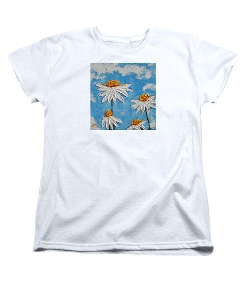 Four Daisies Women's T-Shirt (Standard Cut)