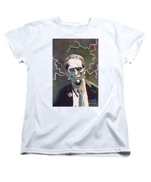Women's T-Shirt (Standard Cut) featuring the painting Frankencrory by Ryan Fox