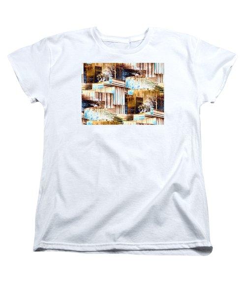 Freeway Park Women's T-Shirt (Standard Cut) by Tim Allen