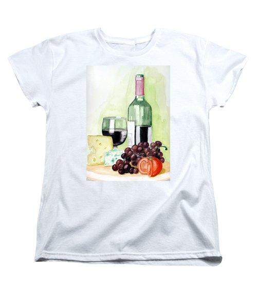 French Tradition Women's T-Shirt (Standard Cut) by Alban Dizdari
