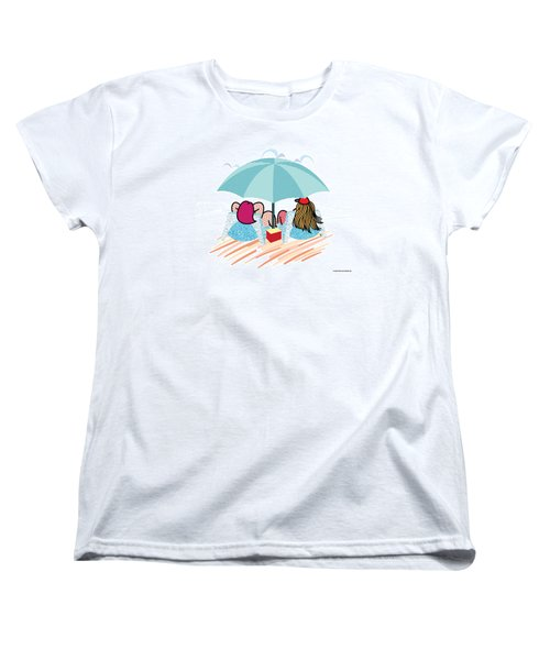 Friends Women's T-Shirt (Standard Cut) by Steve Ellis