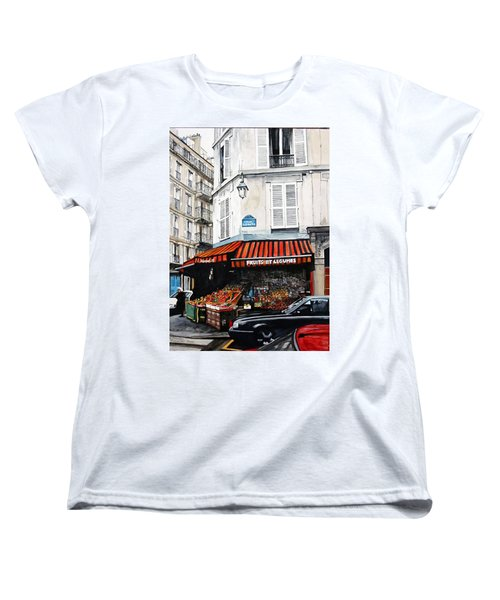 Fruits Et Legumes Women's T-Shirt (Standard Cut) by Tim Johnson