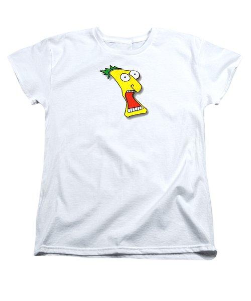 Fu Party People - Peep 008 Women's T-Shirt (Standard Cut) by Dar Freeland
