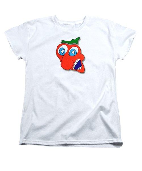 Fu Party People - Peep 013 Women's T-Shirt (Standard Cut) by Dar Freeland