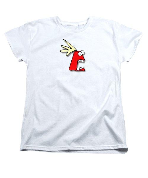 Fu Party People - Peep 023 Women's T-Shirt (Standard Cut) by Dar Freeland