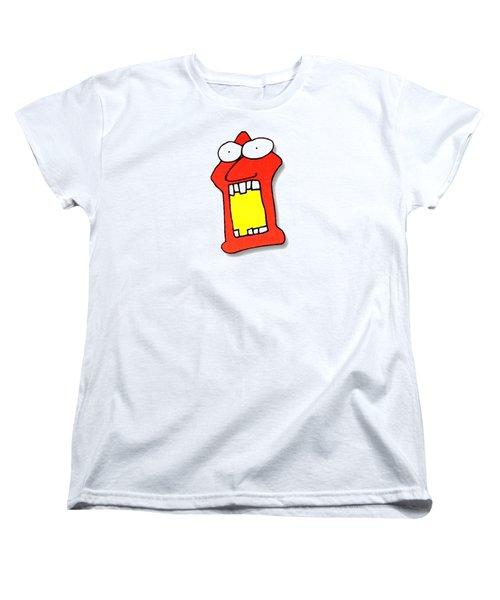 Fu Party People - Peep 104 Women's T-Shirt (Standard Cut) by Dar Freeland