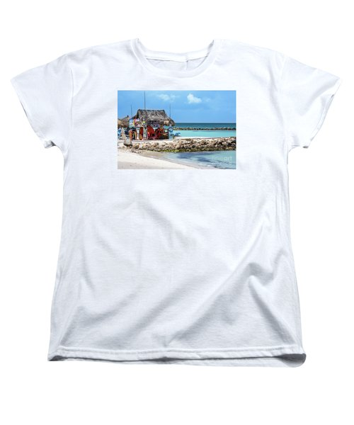 Women's T-Shirt (Standard Cut) featuring the photograph Fun In The Sun by Judy Wolinsky