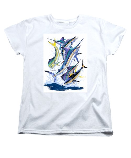 Gamefish Digital Women's T-Shirt (Standard Cut) by Carey Chen