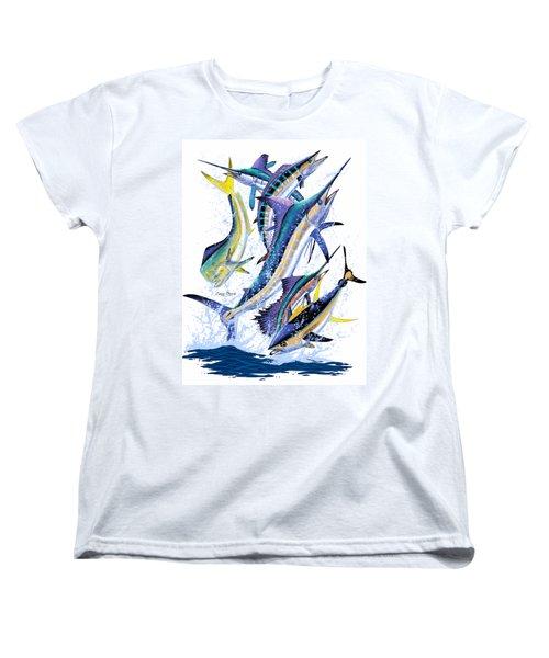 Gamefish Digital Women's T-Shirt (Standard Cut) by Carey Chen
