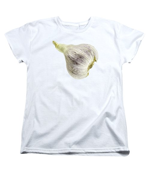 Garlic Head Women's T-Shirt (Standard Cut) by Erich Grant