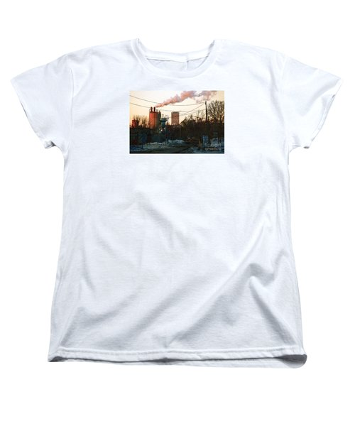 Women's T-Shirt (Standard Cut) featuring the digital art Gate 4 by David Blank