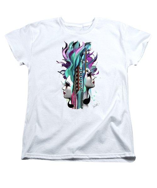 Gemini Women's T-Shirt (Standard Cut) by Melanie D