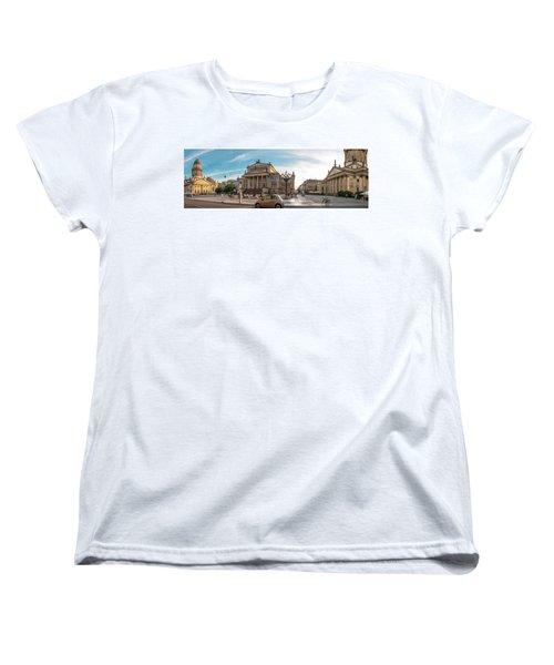 Gendarmenmarkt Platz / Berlin Women's T-Shirt (Standard Cut) by Stavros Argyropoulos