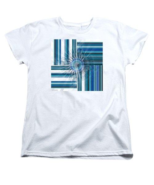 Geometry  Women's T-Shirt (Standard Cut) by Thibault Toussaint