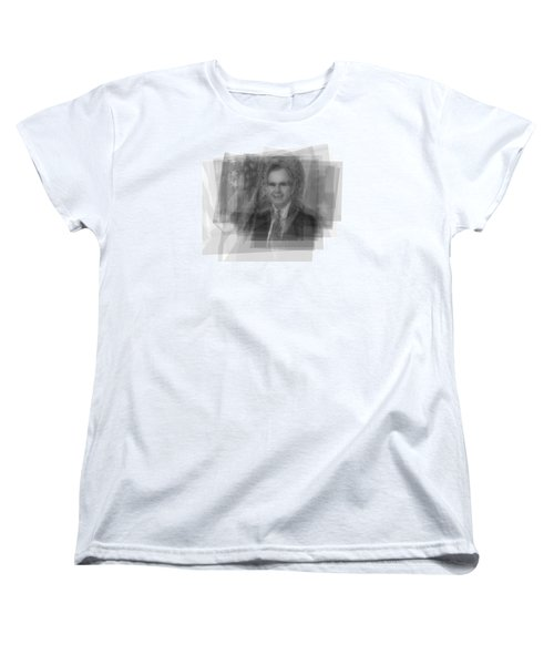 George H. W. Bush Women's T-Shirt (Standard Cut) by Steve Socha