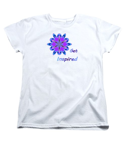 Get Inspired Women's T-Shirt (Standard Cut)