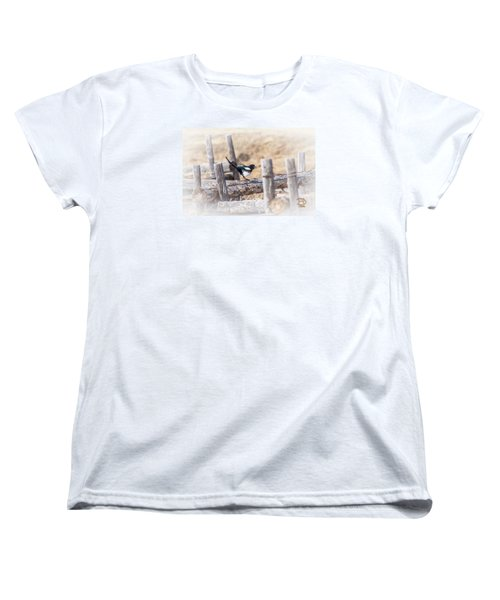 Women's T-Shirt (Standard Cut) featuring the photograph Gettin Jiggy Widit by Daniel Hebard