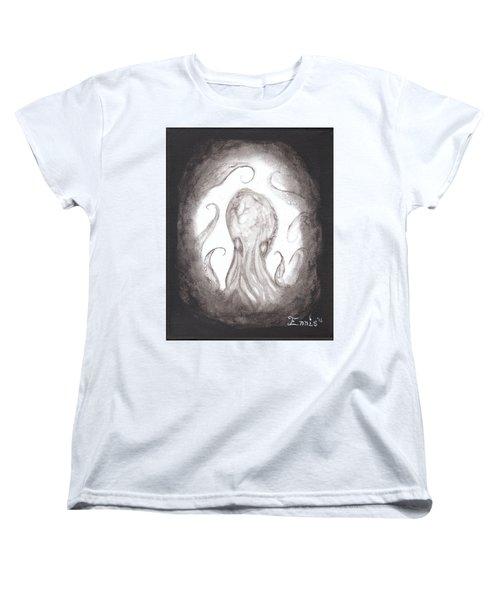 Ghostopus Women's T-Shirt (Standard Cut) by Christophe Ennis