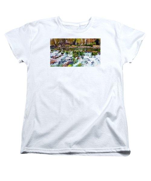 Giant Springs 1 Women's T-Shirt (Standard Cut) by Susan Kinney