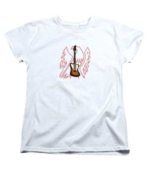 Gibson Firebird 1965 Women's T-Shirt (Standard Cut) by Mark Rogan