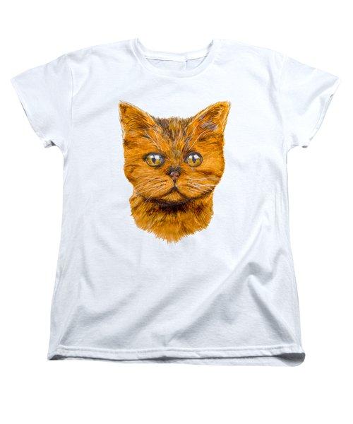 Ginger Women's T-Shirt (Standard Cut) by John Stuart Webbstock