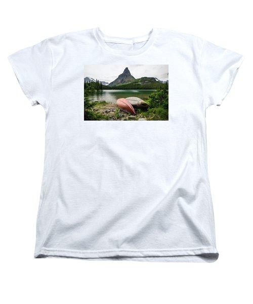 Glacier National Park Women's T-Shirt (Standard Cut)