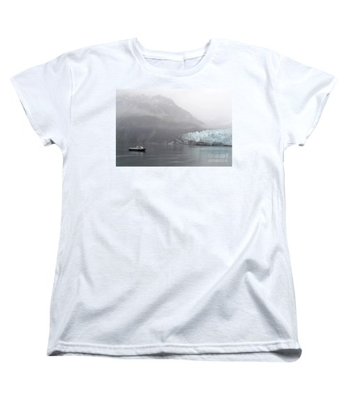 Glacier Ride Women's T-Shirt (Standard Cut) by Zawhaus Photography