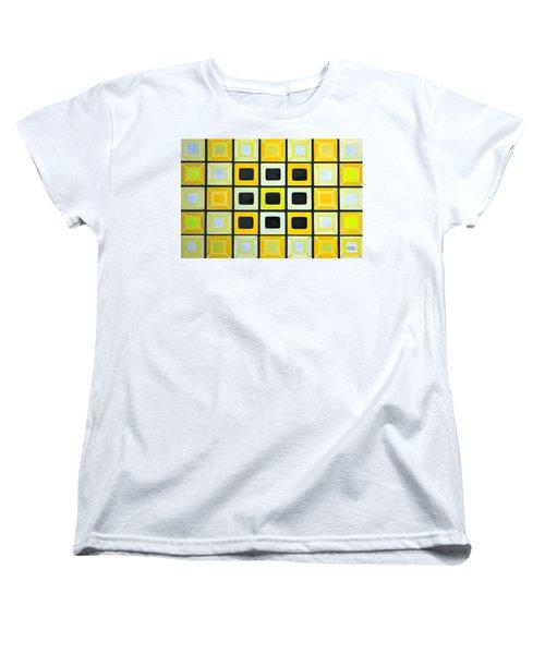 Glass Wall Women's T-Shirt (Standard Cut) by Lorna Maza