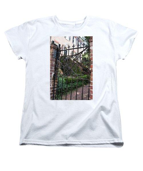 Glebe House Women's T-Shirt (Standard Cut) by Ed Waldrop