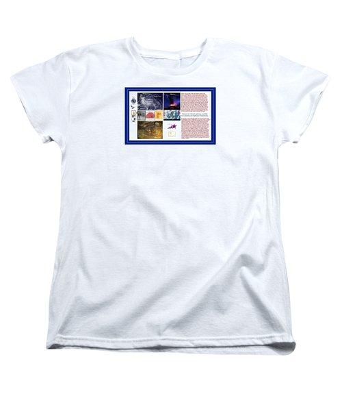 Glimpsing Divinity Women's T-Shirt (Standard Cut) by Peter Hedding