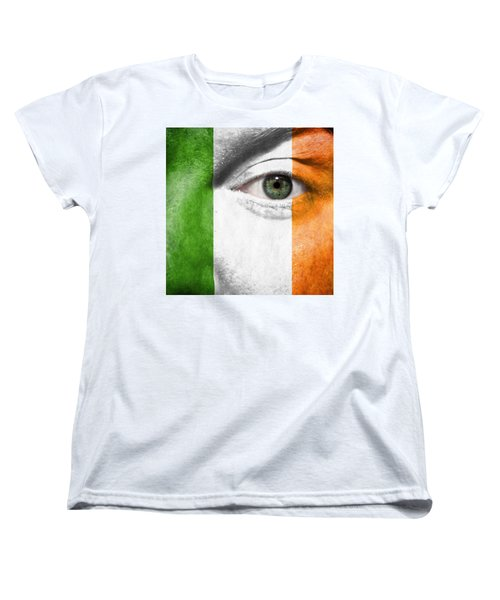 Go Ireland Women's T-Shirt (Standard Cut) by Semmick Photo