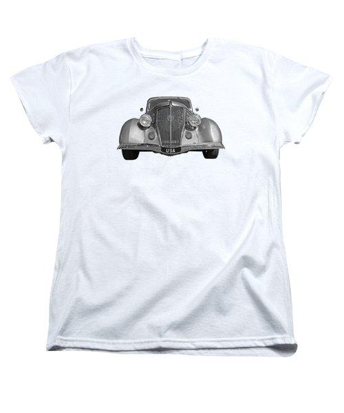 Go Usa Women's T-Shirt (Standard Cut) by Gill Billington