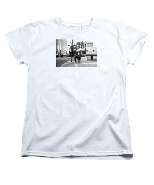 Women's T-Shirt (Standard Cut) featuring the photograph Going For Breakfast by Vinnie Oakes
