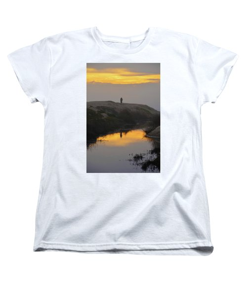 Golden Moments Women's T-Shirt (Standard Cut) by Deprise Brescia