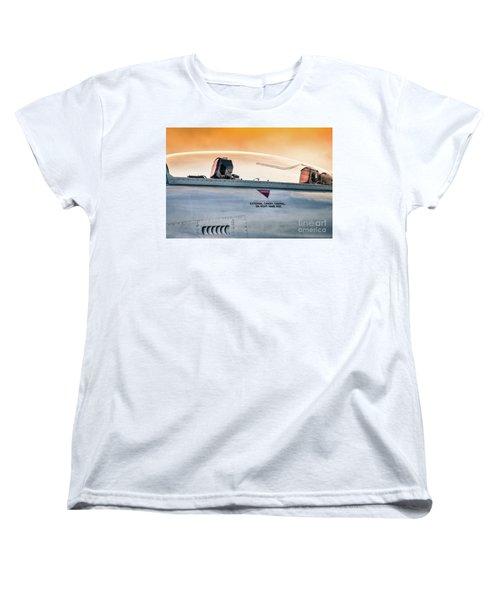 Golden Sky Women's T-Shirt (Standard Cut) by Lawrence Burry