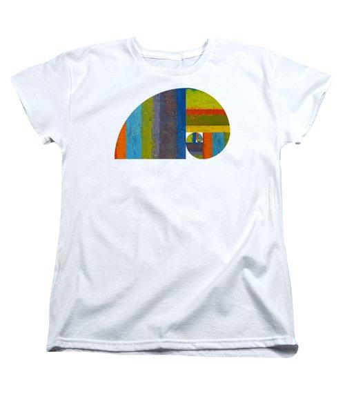 Golden Spiral Study Women's T-Shirt (Standard Cut) by Michelle Calkins