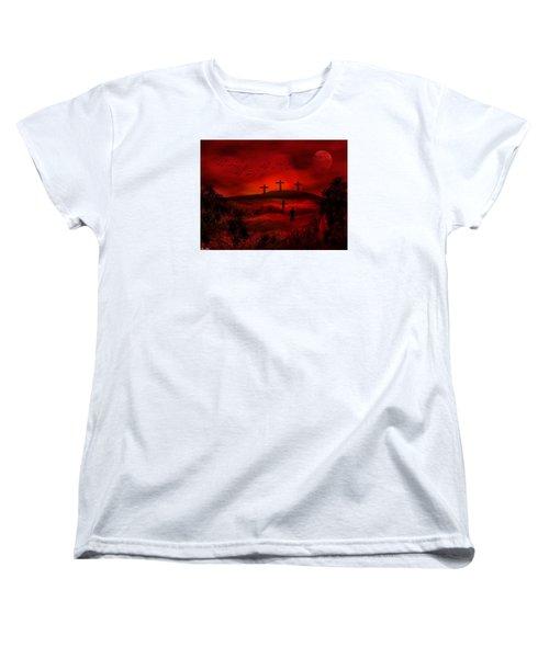Golgotha Women's T-Shirt (Standard Cut) by Bernd Hau