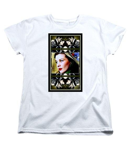 Gone With The Wind Women's T-Shirt (Standard Cut) by Wbk