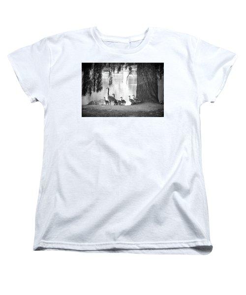 Goslings Bw7 Women's T-Shirt (Standard Cut) by Clarice Lakota