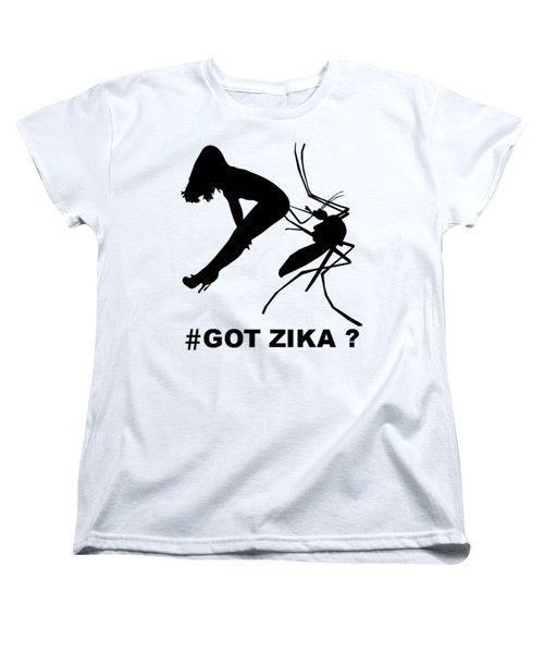 Got Zika? Women's T-Shirt (Standard Cut) by Peter Gumaer Ogden