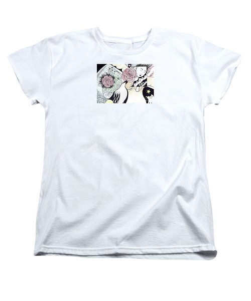 Gracefully - In Color Women's T-Shirt (Standard Cut) by Helena Tiainen