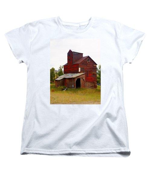 Grain Elevator Women's T-Shirt (Standard Cut) by Marty Koch