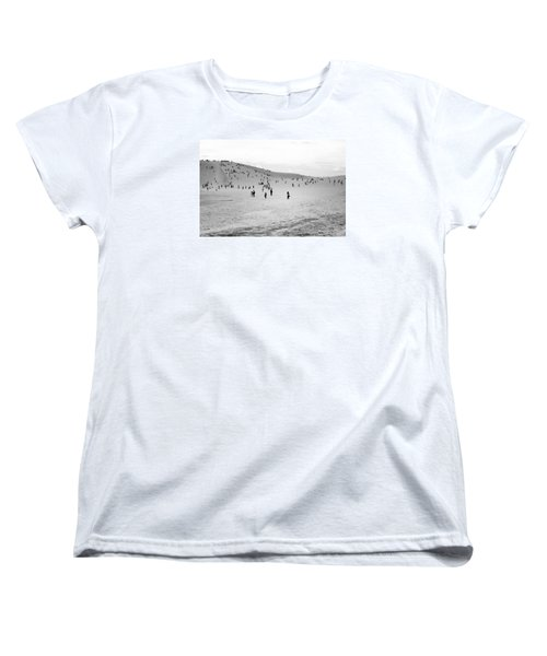 Women's T-Shirt (Standard Cut) featuring the photograph Grains Of Sand by Hayato Matsumoto