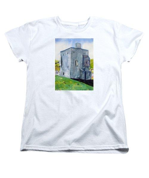Granuaile's Castle Behind The Hill Women's T-Shirt (Standard Cut)