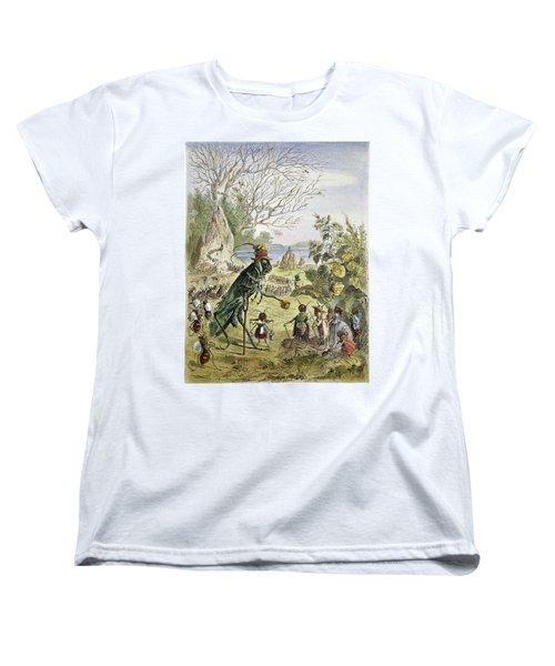 Grasshopper And Ant Women's T-Shirt (Standard Cut) by Granger